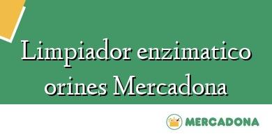 Comprar &#160Limpiador enzimatico orines Mercadona