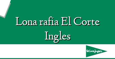 Comprar  &#160Lona rafia El Corte Ingles
