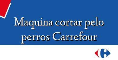 Comprar &#160Maquina cortar pelo perros Carrefour