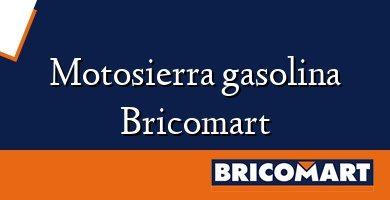Motosierra gasolina Bricomart