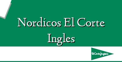 Comprar  &#160Nordicos El Corte Ingles