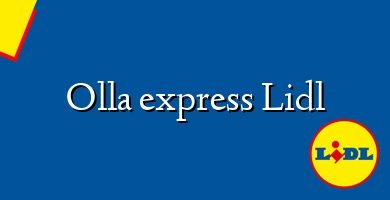 Comprar &#160Olla express Lidl