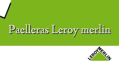Comprar  &#160Paelleras Leroy merlin