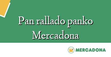 Comprar  &#160Pan rallado panko Mercadona