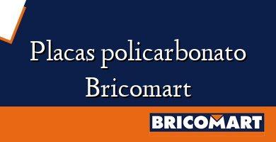 Placas policarbonato Bricomart