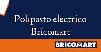 Polipasto electrico Bricomart