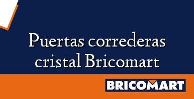 Puertas correderas cristal Bricomart