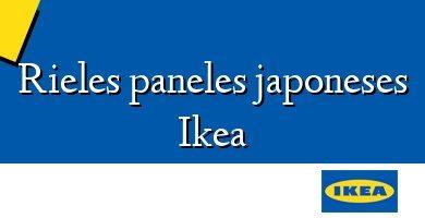 Comprar  &#160Rieles paneles japoneses Ikea