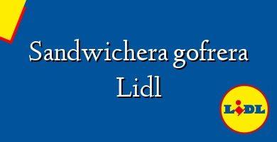 Comprar &#160Sandwichera gofrera Lidl
