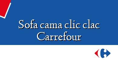 Comprar  &#160Sofa cama clic clac Carrefour