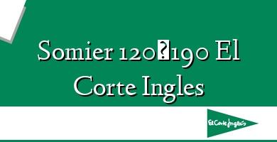 Comprar &#160Somier 120×190 El Corte Ingles