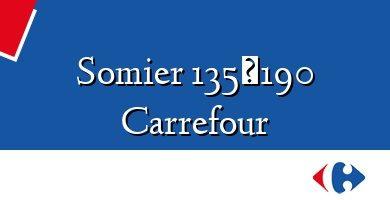 Comprar &#160Somier 135×190 Carrefour