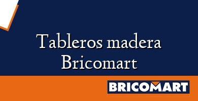 Tableros madera Bricomart