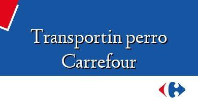 Comprar &#160Transportin perro Carrefour