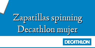 Comprar  &#160Zapatillas spinning Decathlon mujer
